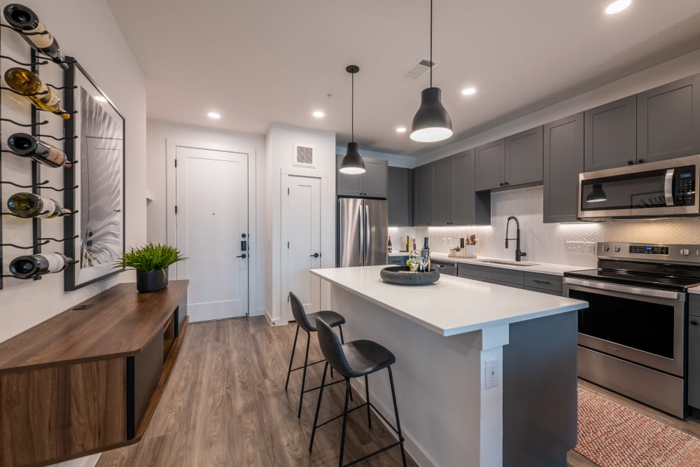 Link to floor plans at The Langford in Dallas, Texas