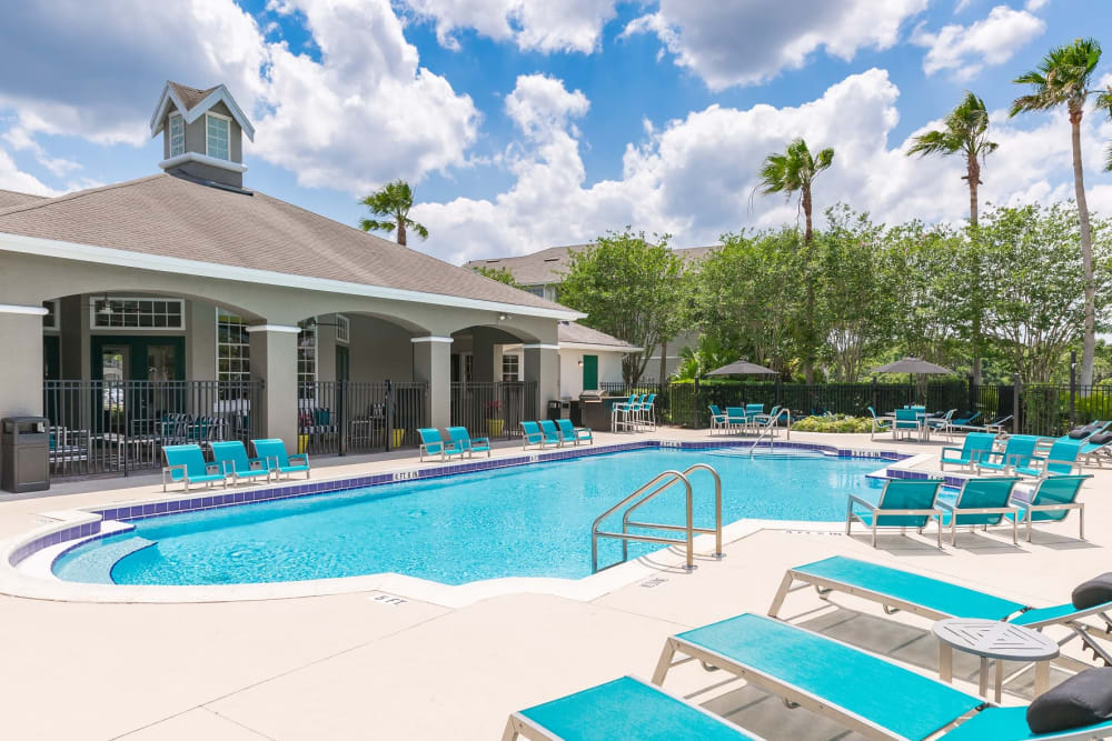 Resort Style Pool at The Avenue in Ocoee
