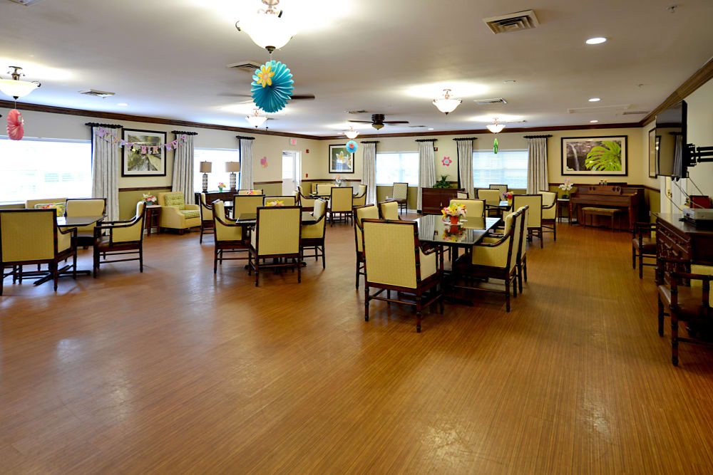 Pacifica Senior Living Belleair Dining Room