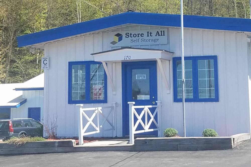The office at Store It All Self Storage - Barre in Barre, Vermont
