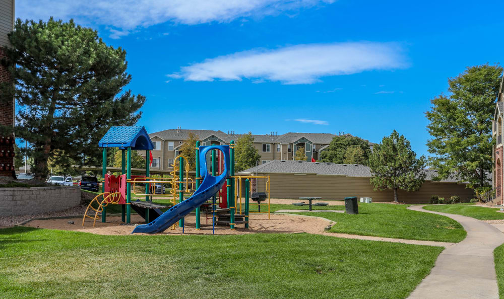 Play ground at Promenade at Hunter's Glen Apartments