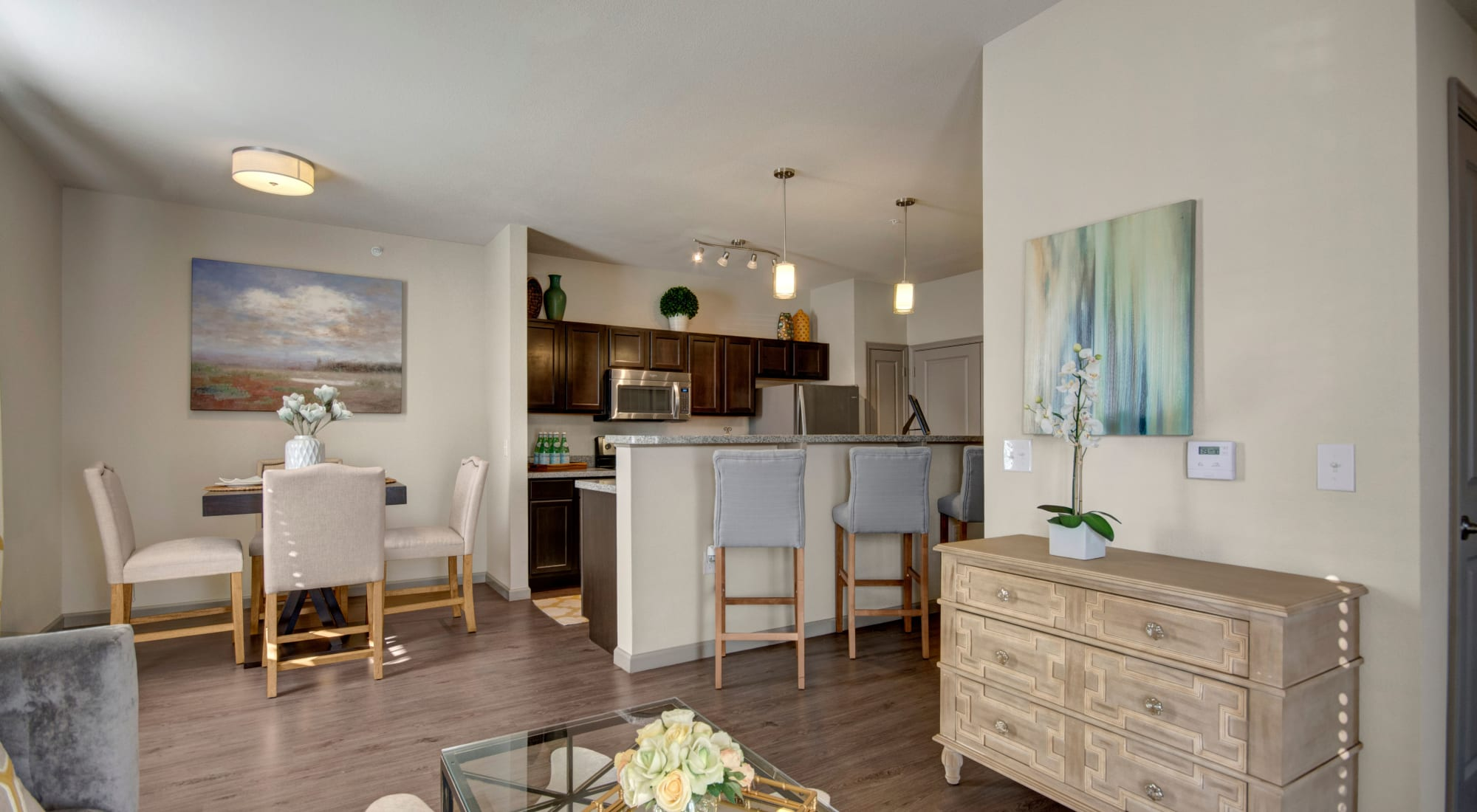 Floor plans at Creekside South in Wylie, Texas