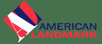 The American Landmark logo at Electra America in Lake Park, Florida