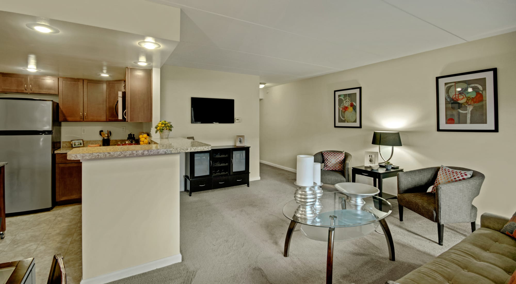 Floor plans at Racquet Club Apartments and Townhomes in Levittown, Pennsylvania