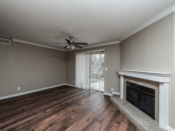 Rock Creek showcase a spacious living room in Houston