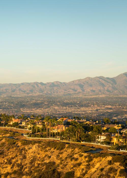 Beautiful geography at Niguel Summit Condominium Rentals in Laguna Niguel, California