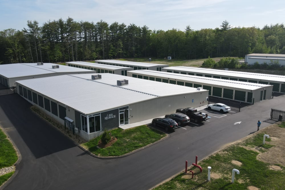 The front office at 603 Storage - Lee in Lee, New Hampshire