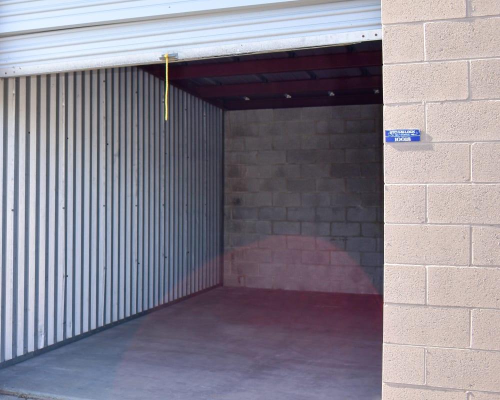 Enclosed auto storage at STOR-N-LOCK Self Storage in Sandy, Utah
