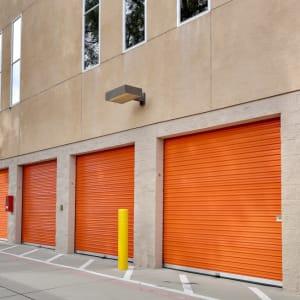 Outside storage units at A-1 Self Storage in San Jose, California