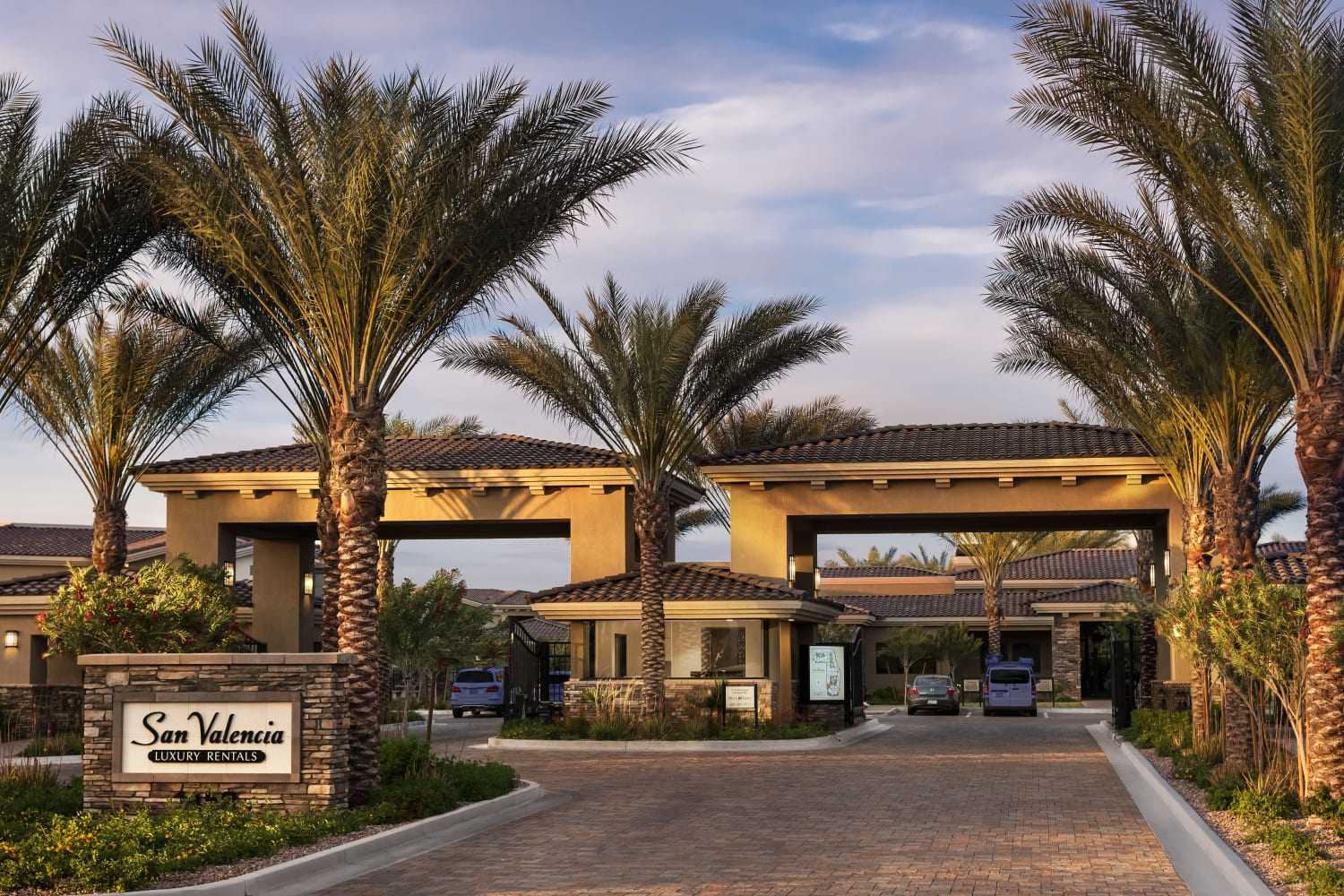 Porte Cochere San Valencia in Chandler, Arizona