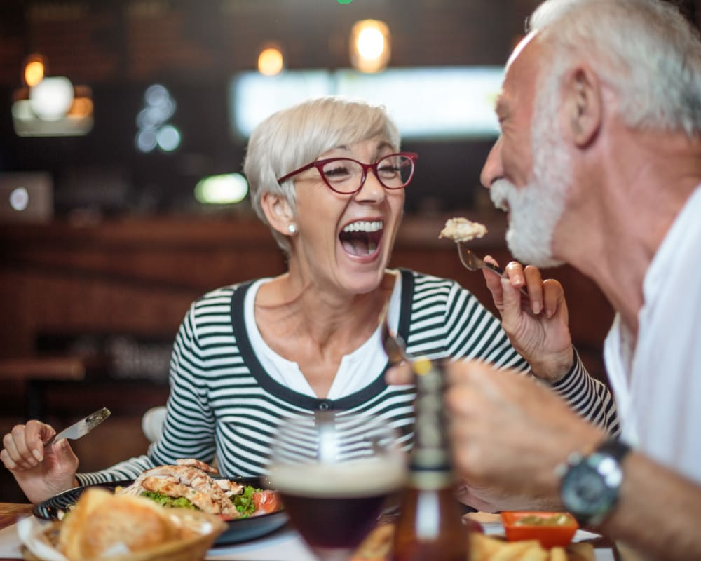 Restaurant quality dining at Carolina Assisted Living in Appleton, Wisconsin.