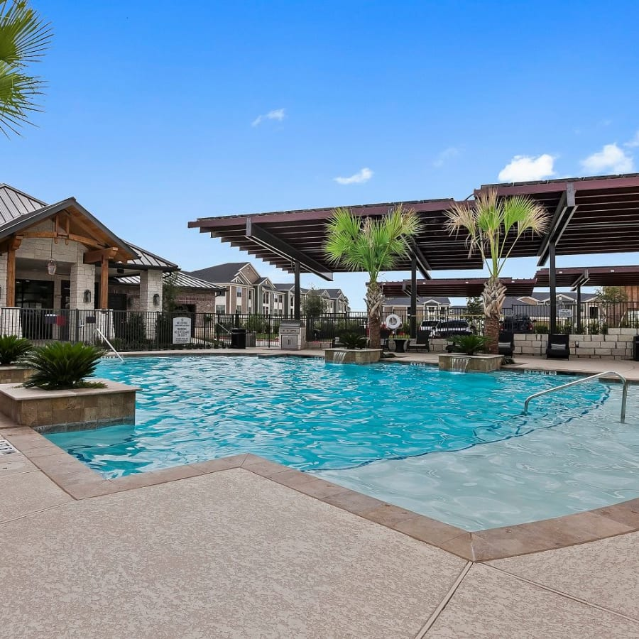 Community amenities at Plum Creek Vue in Kyle, Texas