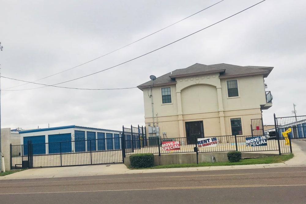 The Store It All Self Storage - McPherson building in Laredo, Texas