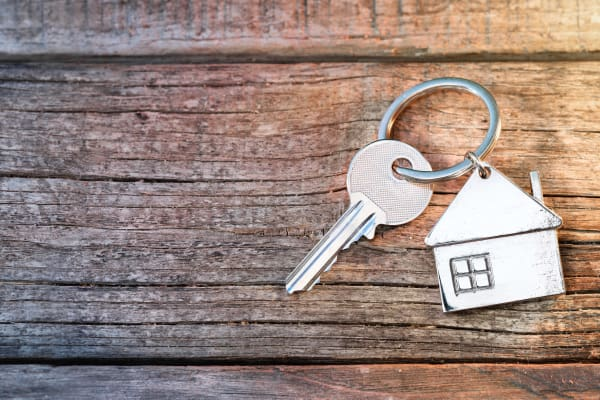 Keys to your new apartment in Sacramento, CA