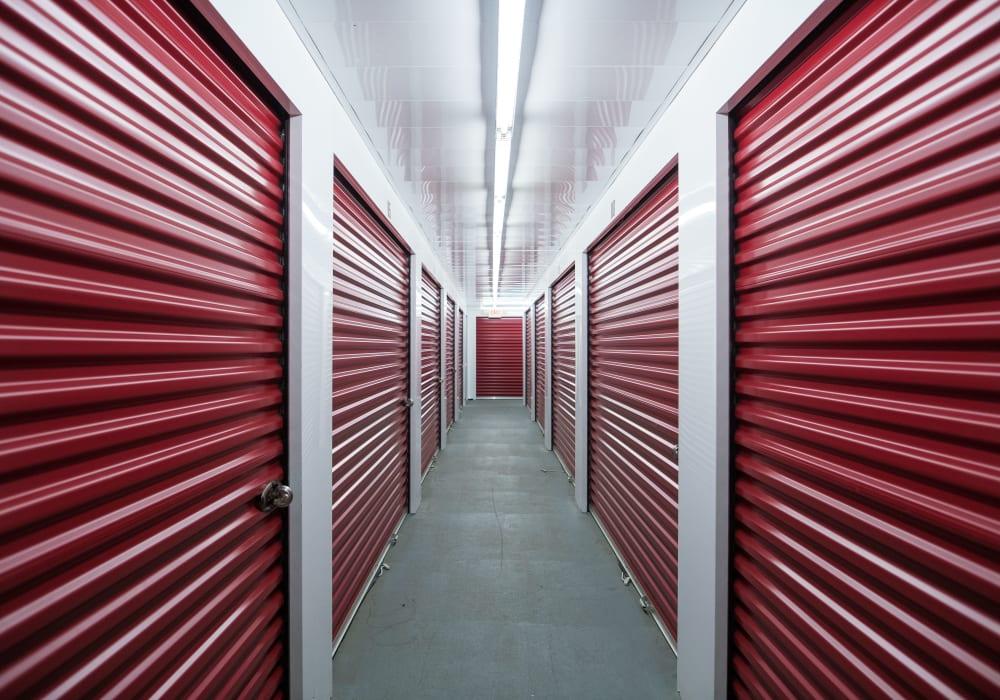 Interior units at Apple Self Storage - East Gwillimbury in East Gwillimbury, Ontario