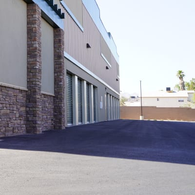 An exterior unit, easily accessible from the car, at Towne Storage - Arville in Las Vegas, Nevada