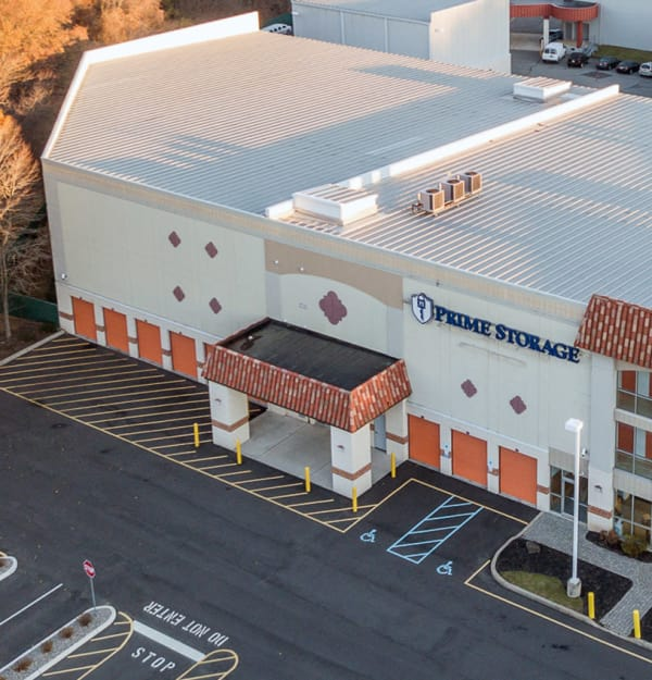 Exterior of Prime Storage in Saratoga Springs, NY
