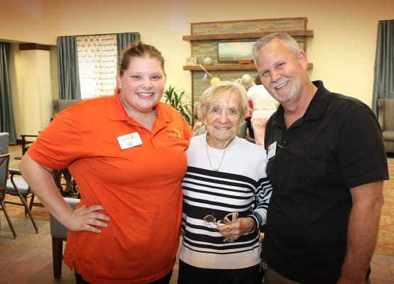 Our staff loves seniors at Prairie House Assisted Living and Memory Care in Broken Arrow, Oklahoma