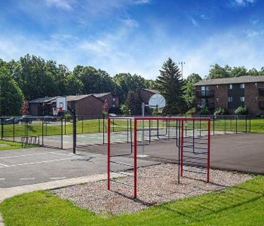 Onsite playground at High Acres Apartments & Townhomes in Syracuse, New York