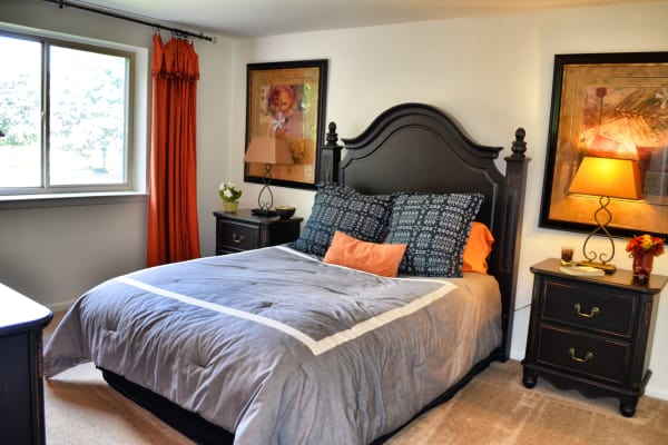Bedroom at Chesterfield Apartment Homes in Levittown, Pennsylvania