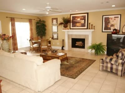 Our apartments in Hattiesburg, Mississippi offer a living room