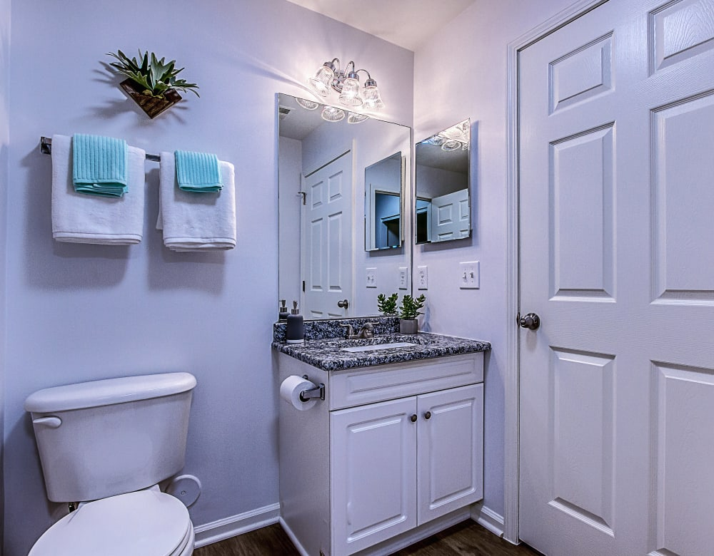 Bathroom at Eagle Rock Apartments at Freehold in Freehold, New Jersey