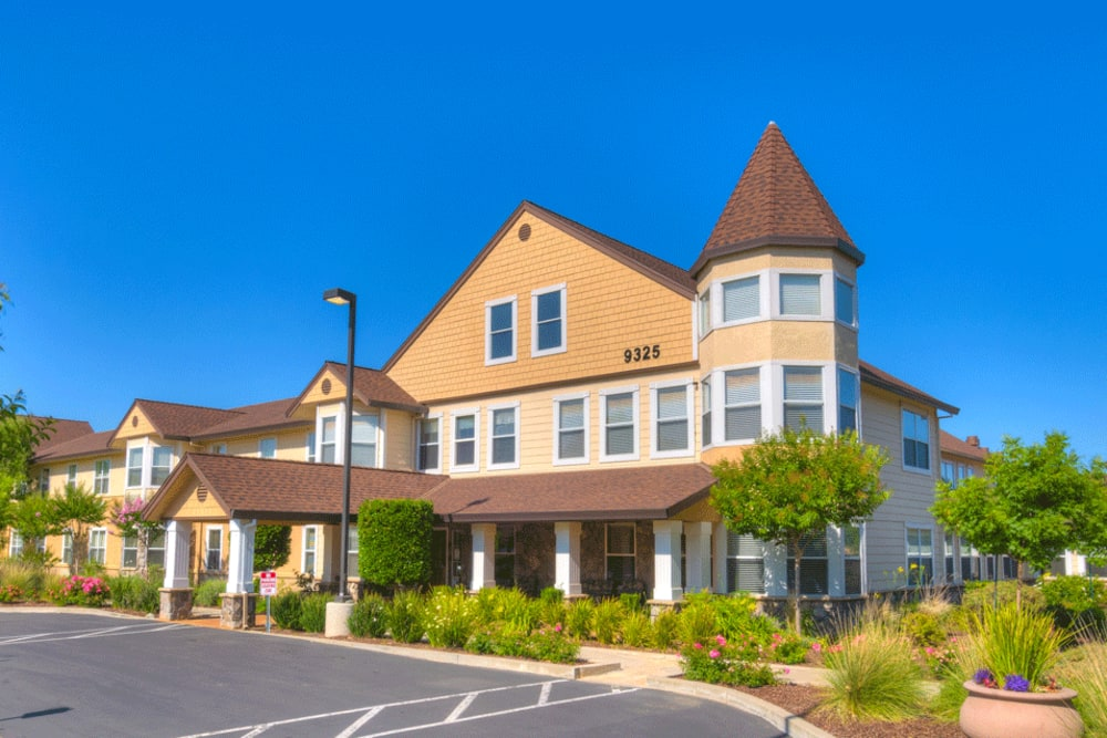 Exterior of The Meadows - Assisted Living in Elk Grove, California