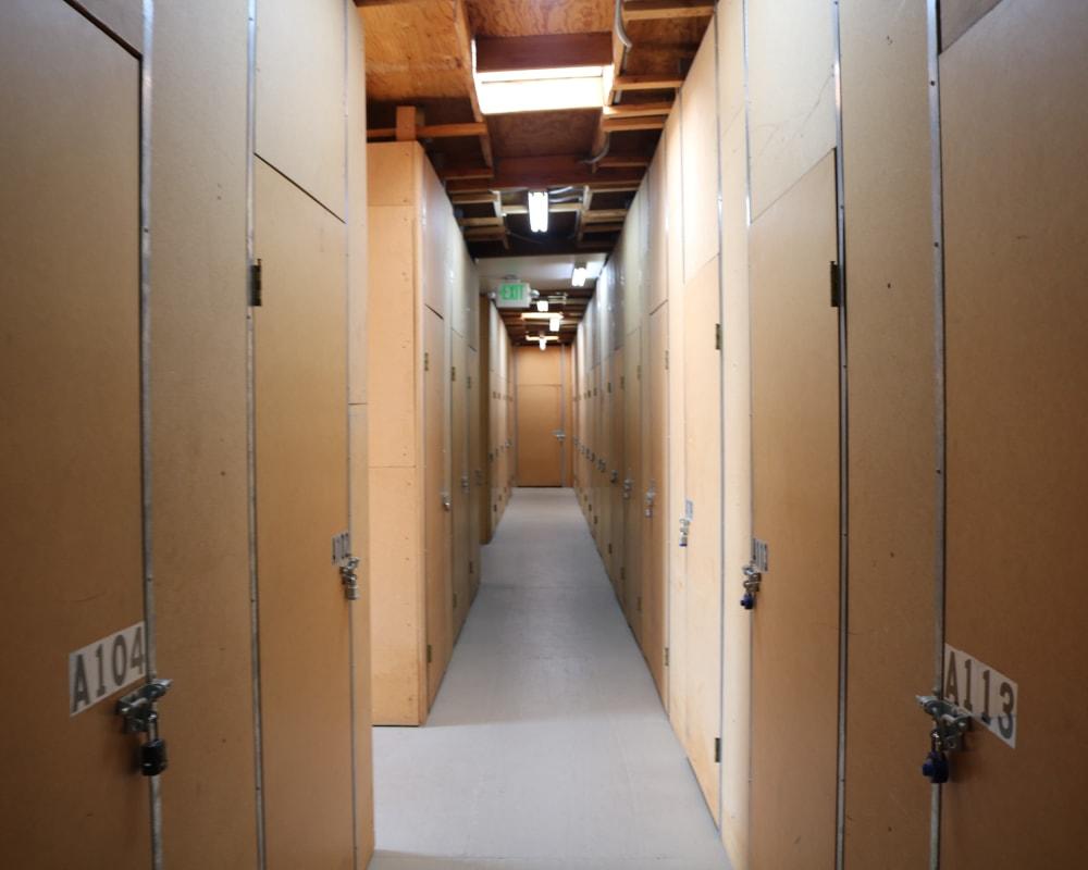 Climate-controlled storage at Golden State Storage - Golden Triangle in Santa Clarita, California