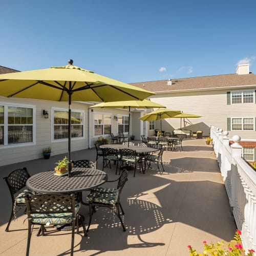 Franklin Senior living from Hearth Management