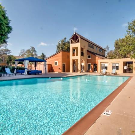 Refreshing swimming pool at Terra Nova Villas in Chula Vista