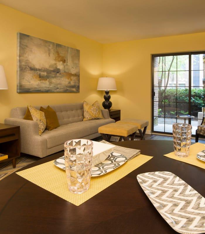 Apartment interiors at MainCentre