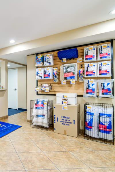 Packing and moving supplies available at Encinitas Self Storage in Encinitas, California