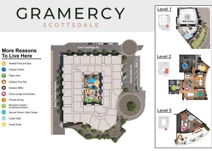 Gramercy Scottsdale site plan