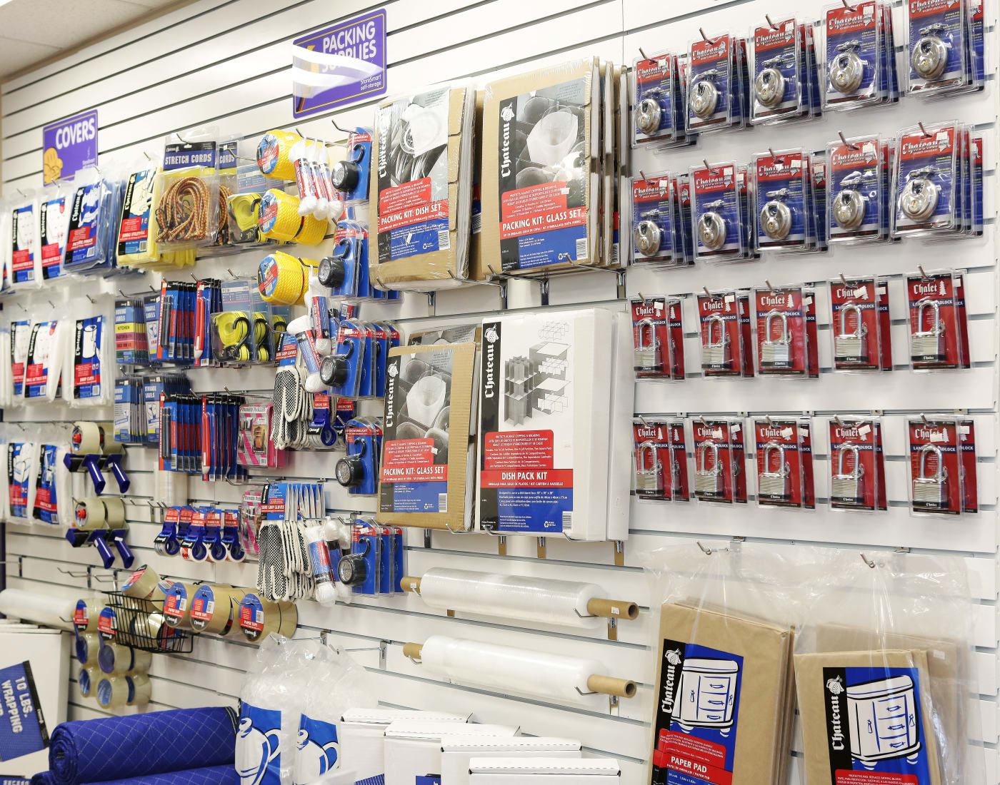 Packing and moving supplies for sale at StoreSmart Self-Storage in Raleigh, North Carolina