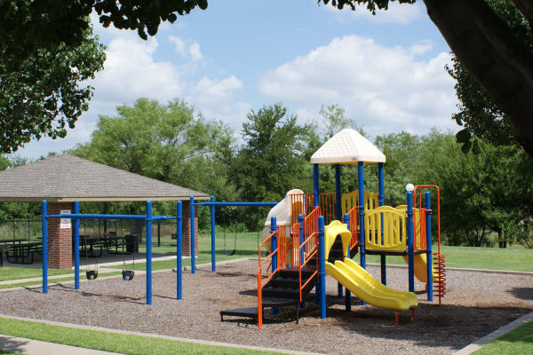 Playground at Carrollton Park of North Dallas