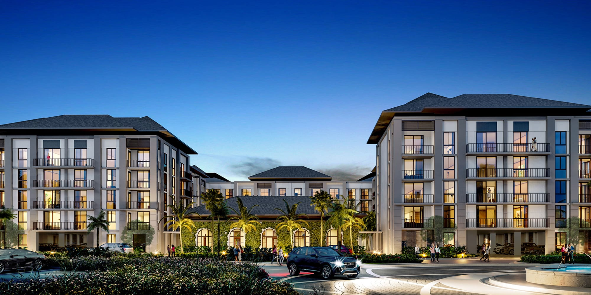 Apartments in Palm Beach Gardens, Florida, at Solera at City Centre