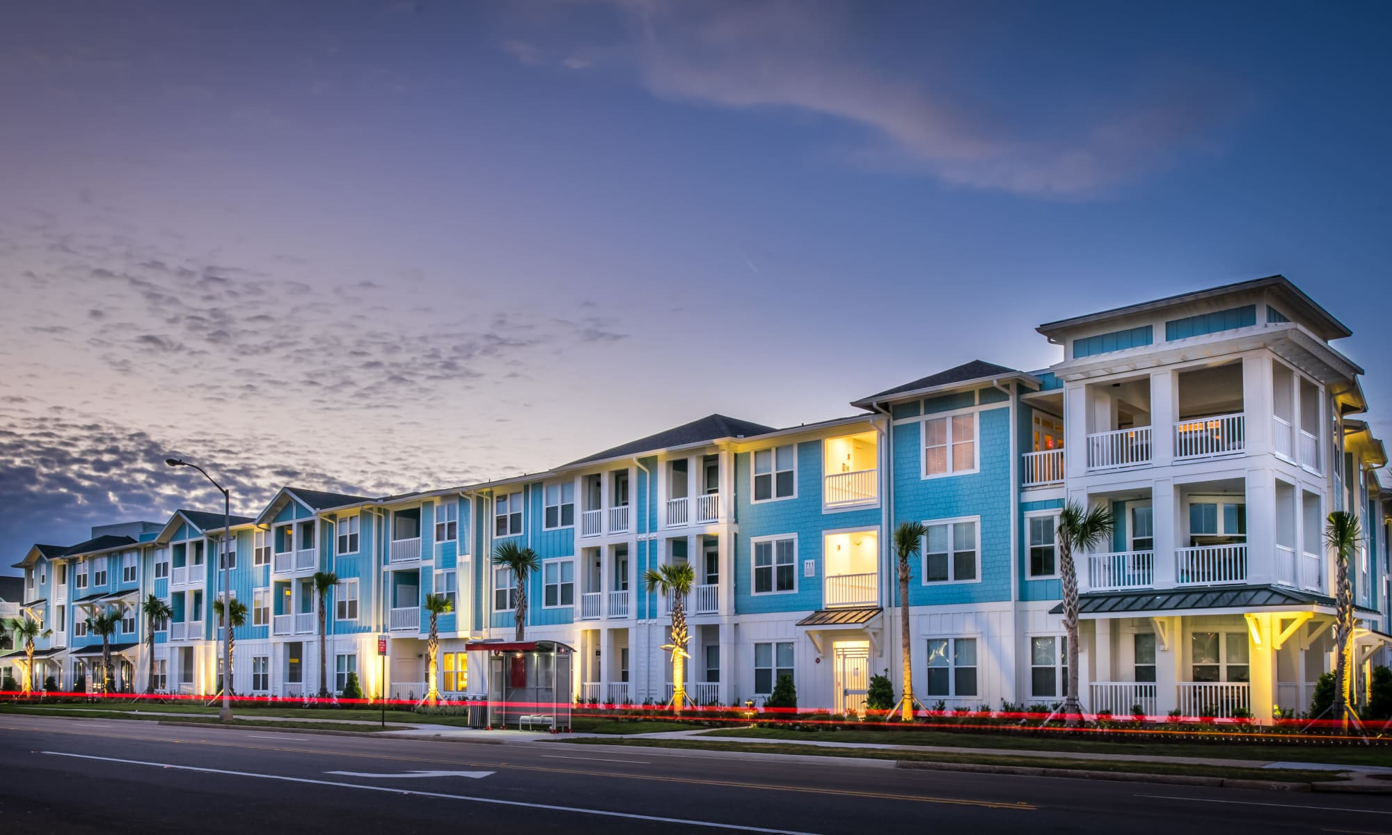Apartments at BluWater Apartments in Jacksonville Beach, Florida