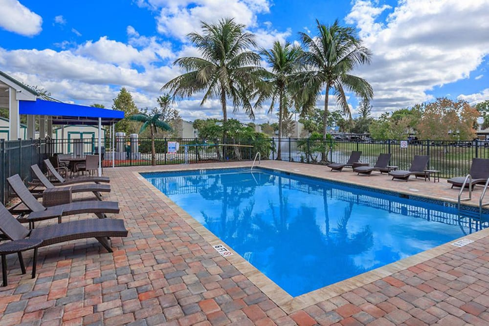 Poolside Tanning At The Coast of Naples Florida In Naples FL