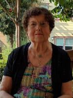 Marion,  resident at Merrill Gardens at Gilroy in Gilroy, California.