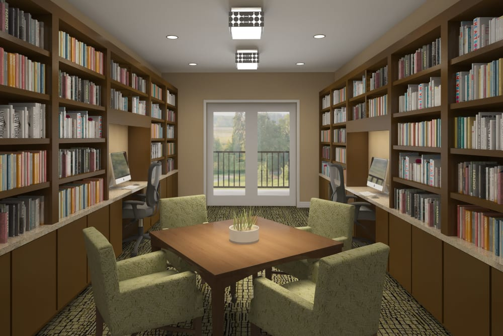 Library at Harmony at Mt. Juliet in Mt. Juliet, Tennessee