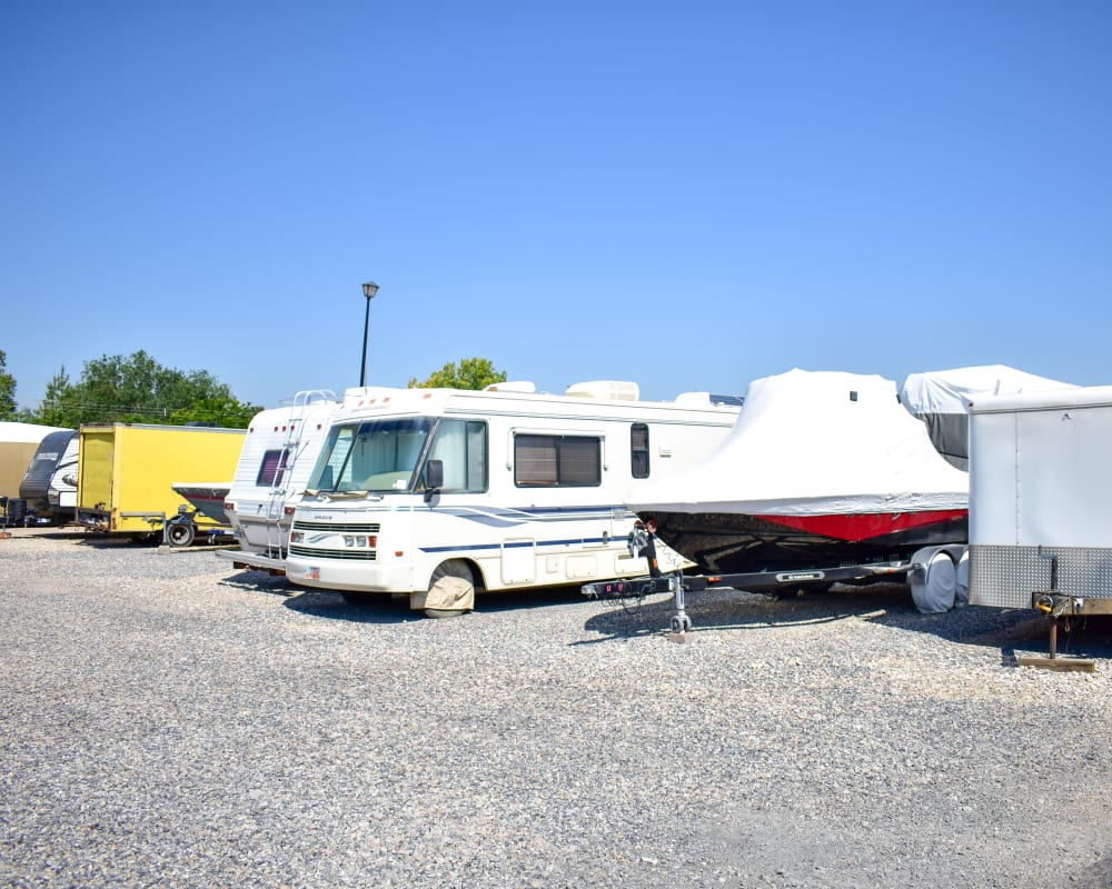 RV and boat storage at STOR-N-LOCK Self Storage in Taylorsville, Utah