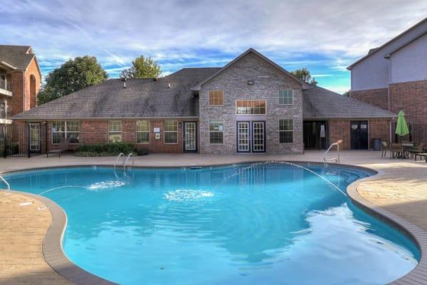 Pool at Heights at Battle Creek in Broken Arrow, Oklahoma