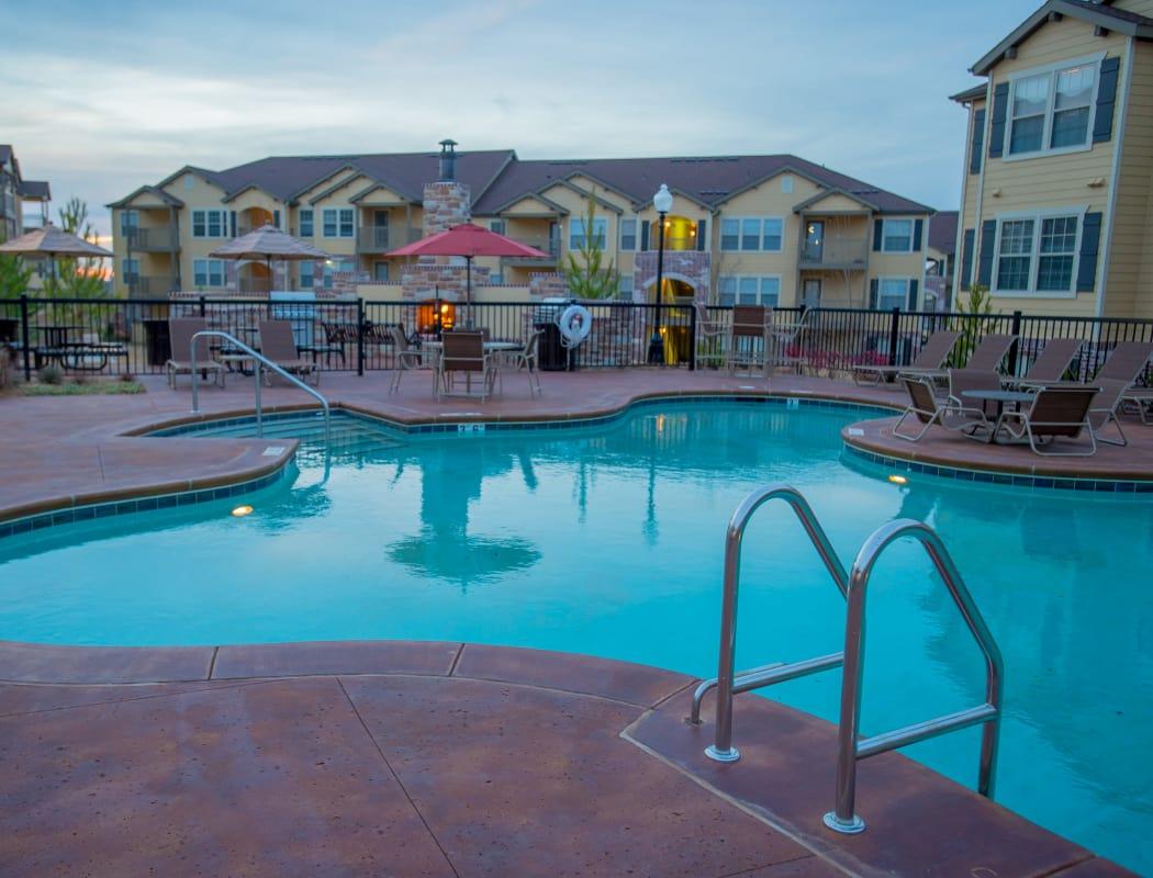 Swimming pool at Park at Tuscany in Oklahoma City, Oklahoma