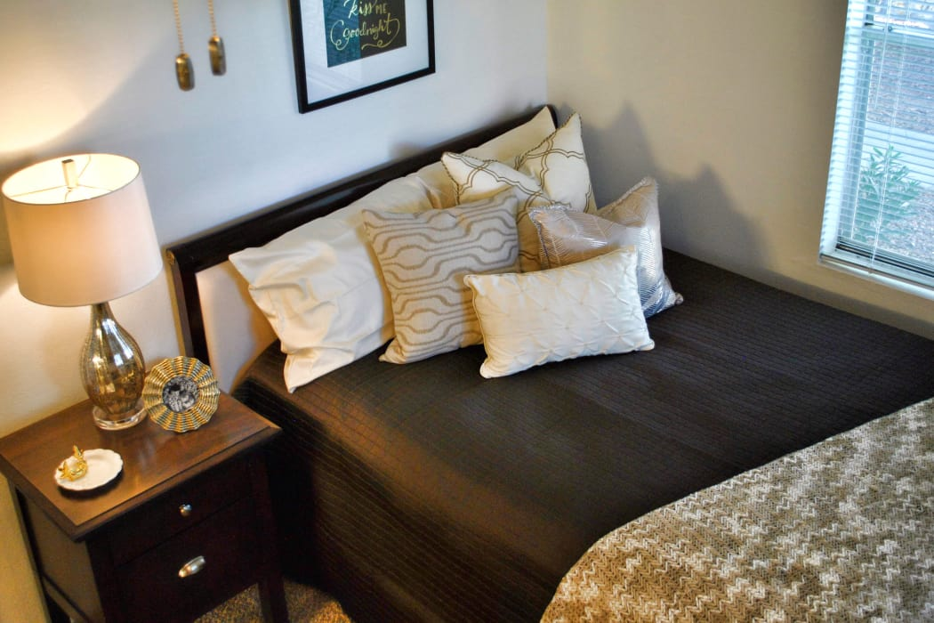 Master bedroom at Double Tree Apartments in El Paso, Texas