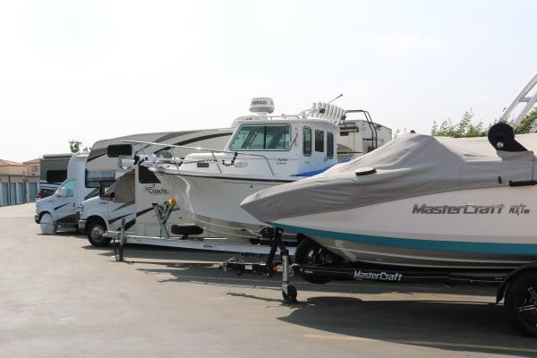 Boat storage at Golden State Storage - Camarillo in Camarillo, California