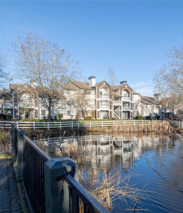 Enjoy the neighborhood at Olin Fields Apartments in Everett