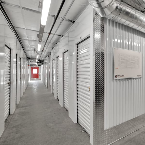 Climate controlled indoor storage units at StorQuest Self Storage in Bermuda Dunes, California