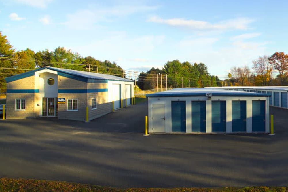 Clean self storage units at Safe Storage in Springvale, Maine