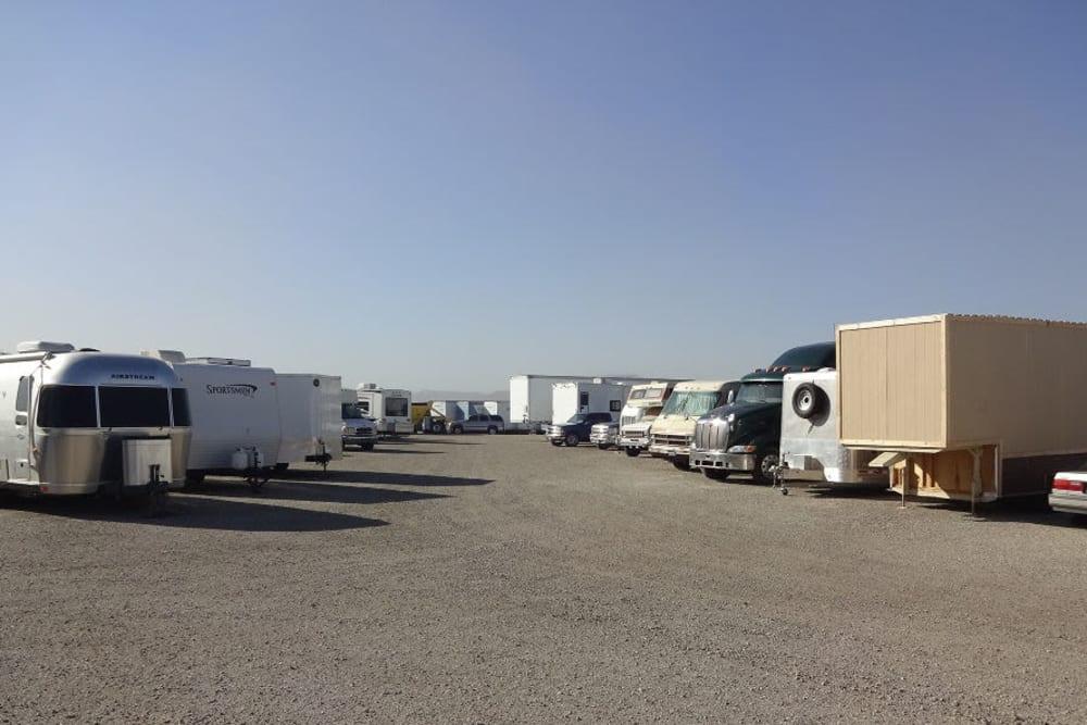 Vehicle Parking and Storage at Storage Etc... Sylmar