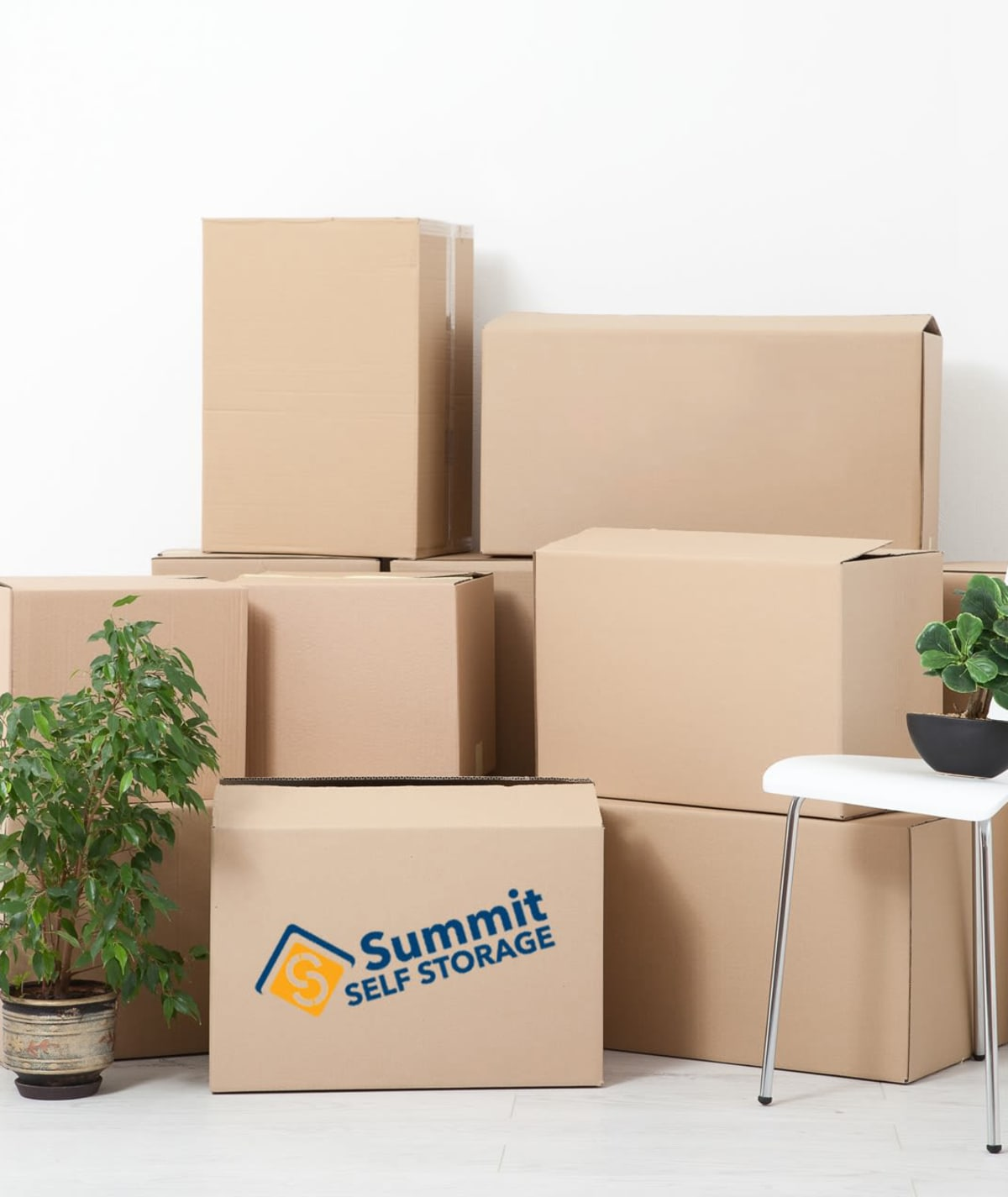 Climate-controlled storage at Summit Self Storage - Chapel Hill in Akron, Ohio